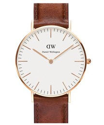 Daniel Wellington「Daniel Wellington 'Classic St. Mawes' Leather Strap Watch, 36mm(Watch)」