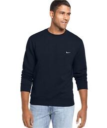 Nike「Nike Sweatshirts, Classic Fleece Crew(Sweatshirt)」