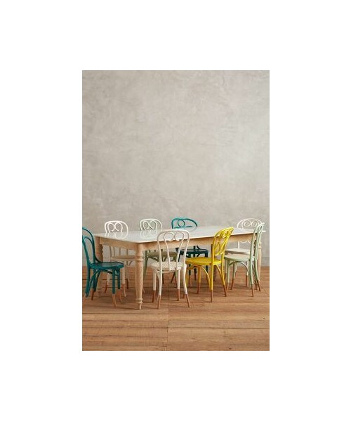 「Anthropologie Polished Marble Dining Table」
