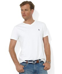 Polo Ralph Lauren「Polo Ralph Lauren T-Shirt, Core Medium-Fit V-Neck T-Shirt(T Shirts)」