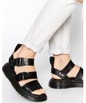 Dr. Martens | Dr Martens Shore Gladiator Reinvented Gryphon Strap Sandals(Sandals)
