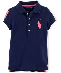 Ralph Lauren「Ralph Lauren Little Girls' Logo Polo(Polo)」