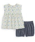 Tucker「Tucker + Tate Floral Sleeveless Top & Chambray Bubble Shorts (Baby Girls)(Overall)」