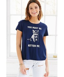Urban Outfitters「Project Social T You Must Be Kitten Me Tee(T Shirts)」