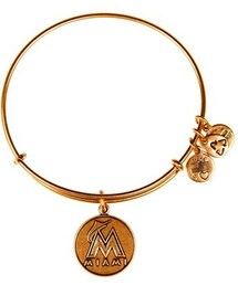 Alex and Ani「Alex and Ani 'Miami Marlins' Expandable Charm Bangle(Bracelet)」