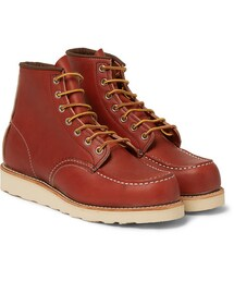 Red Wing Shoes(レッドウィング)の「Classic Moc Rubber-Soled Leather Boots(シューズ)」
