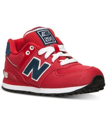 New Balance「New Balance Little Boys' 574 Casual Sneakers From Finish Line(Pants)」