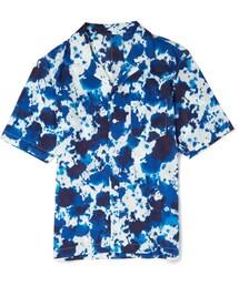 Issey Miyake(イッセイミヤケ)の「Issey Miyake Splatter-Print Cotton Shirt(シャツ・ブラウス)」