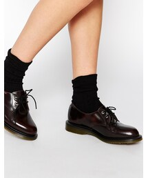 Dr. Martens「Dr Martens Kensington Brook 2-Eye Flat Shoes(Shoes)」