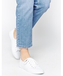 Asos「ASOS DAGNALL Canvas Lace Up Trainers(Sneakers)」