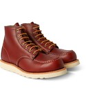 Red Wing Shoes「Red Wing Shoes Rubber-Soled Leather Boots(Boots)」