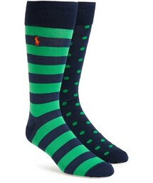 Polo Ralph Lauren「Polo Ralph Lauren Cotton Blend Socks (Assorted 2-Pack)(Socks)」