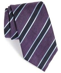 Ermenegildo Zegna「Ermenegildo Zegna Stripe Silk Tie(Tie)」