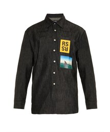 Raf Simons「Raf Simons Cotton-blend denim shirt(Shirts)」