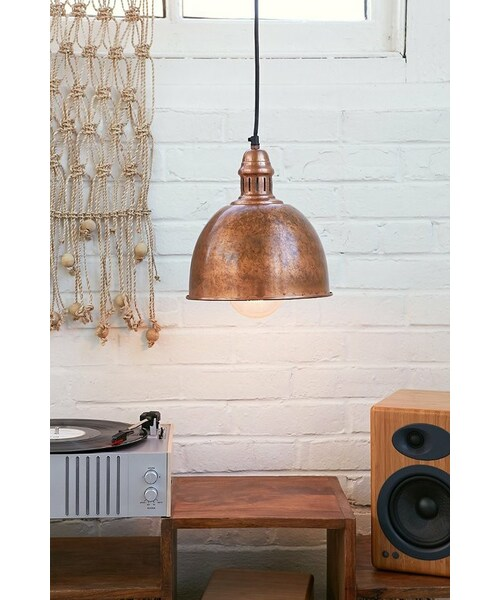 Urban outfitterscupola copper cupola copper pendant light mozeypictures Choice Image