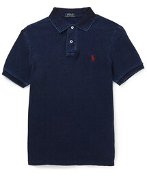 Polo Ralph Lauren「Polo Ralph Lauren Washed Cotton-Piqué Polo Shirt(Polo)」