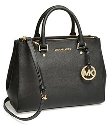 MICHAEL Michael Kors「MICHAEL Michael Kors 'Medium Sutton' Saffiano Leather Tote(Tote)」