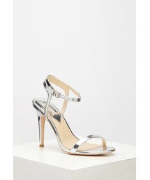 Forever 21「FOREVER 21 Metallic Ankle Strap Sandals(Sandals)」