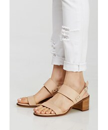 Forever 21「FOREVER 21 Faux Leather Slingback Sandals(Sandals)」