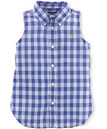 Ralph Lauren「Ralph Lauren Little Girls' Gingham Shirt(Shirts)」