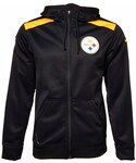 Nike(ナイキ)の「Nike Men's Pittsburgh Steelers Shield Nailhead Full-Zip Hoodie(ベッドリネン)」