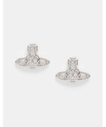 Vivienne Westwood「Vivienne Westwood Thalia Bass Relief Stud Earrings(Pierces (both ears))」