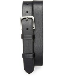 Topman「Topman Black Faux Leather Belt(Belt)」