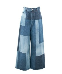 G.V.G.V.(ジーヴィジーヴィ)の「Bleached Denim Wide Pants(パンツ)」