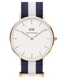 Daniel Wellington「Daniel Wellington 'Classic Glasgow' NATO Strap Watch, 40mm(Watch)」