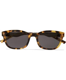 Illesteva「Illesteva Keating D-Frame Tortoiseshell Acetate and Stainless Steel Sunglasses(Sunglasses)」