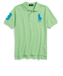 Ralph Lauren「Ralph Lauren Neon Cotton Mesh Polo (Big Boys)(Polo)」