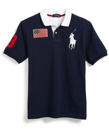 Ralph Lauren「Ralph Lauren Cotton Mesh Polo (Big Boys)(Polo)」