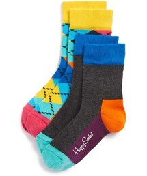 Happy Socks「Happy Socks Argyle Socks (2-Pack) (Toddler)(Socks)」