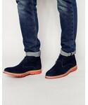 Asos「ASOS BRAND ASOS Chukka Boots in Suede(Boots)」
