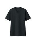 ユニクロ(ユニクロ)の「MEN ドライカラーVネックT(半袖)A(Tシャツ・カットソー)」