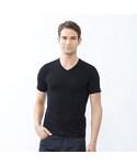ユニクロ「MEN スーピマコットンVネックT(半袖)(T Shirts)」