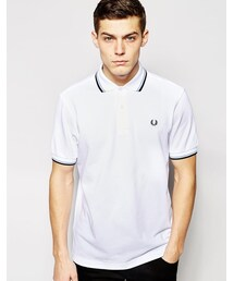 Fred Perry「Fred Perry Regular Fit Twin Tipped Polo(Polo)」