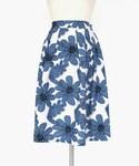 DHOLIC | ビッグフラワーミディフレアスカート(スカート)