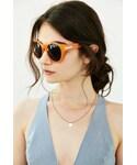 Urban Outfitters「Macy Teardrop Round Sunglasses(Sunglasses)」