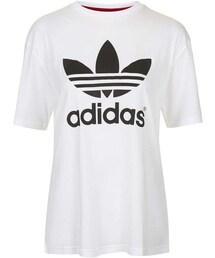 adidas「Topshop for adidas originals Trefoil tee(T Shirts)」