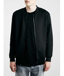 Topman「Black Technical Fabric Bomber Jacket(Tailored jacket)」