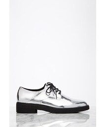 Forever 21「FOREVER 21 Metallic Faux Patent Oxfords(Shoes)」