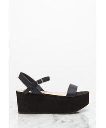 Forever 21「FOREVER 21 Faux Suede Flatform Sandals(Other Shoes)」