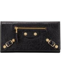 Balenciaga「Balenciaga Giant Golden Money Wallet, Black(Wallet)」