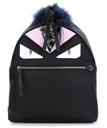 Fendi「Fendi Monster Fur Backpack, Black Multi(Backpack)」