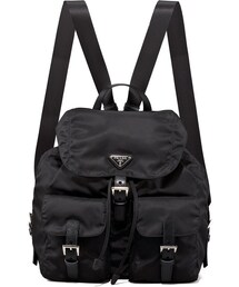 Prada「Prada Vela Backpack, Black (Nero)(Backpack)」