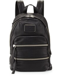 Marc by Marc Jacobs「MARC by Marc Jacobs Domo Biker Leather Backpack, Black(Backpack)」