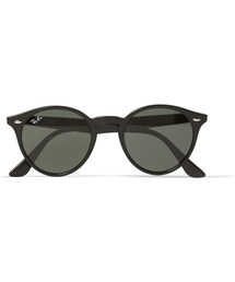 Ray-Ban「Ray-Ban 2180 Round-Frame Acetate Sunglasses(Sunglasses)」
