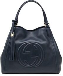 Gucci「Gucci Soho Leather Shoulder Bag, Dark Blue(Shoulderbag)」