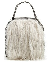 Stella McCartney「Stella McCartney 'Mini Falabella' Faux Fur Tote(Tote)」